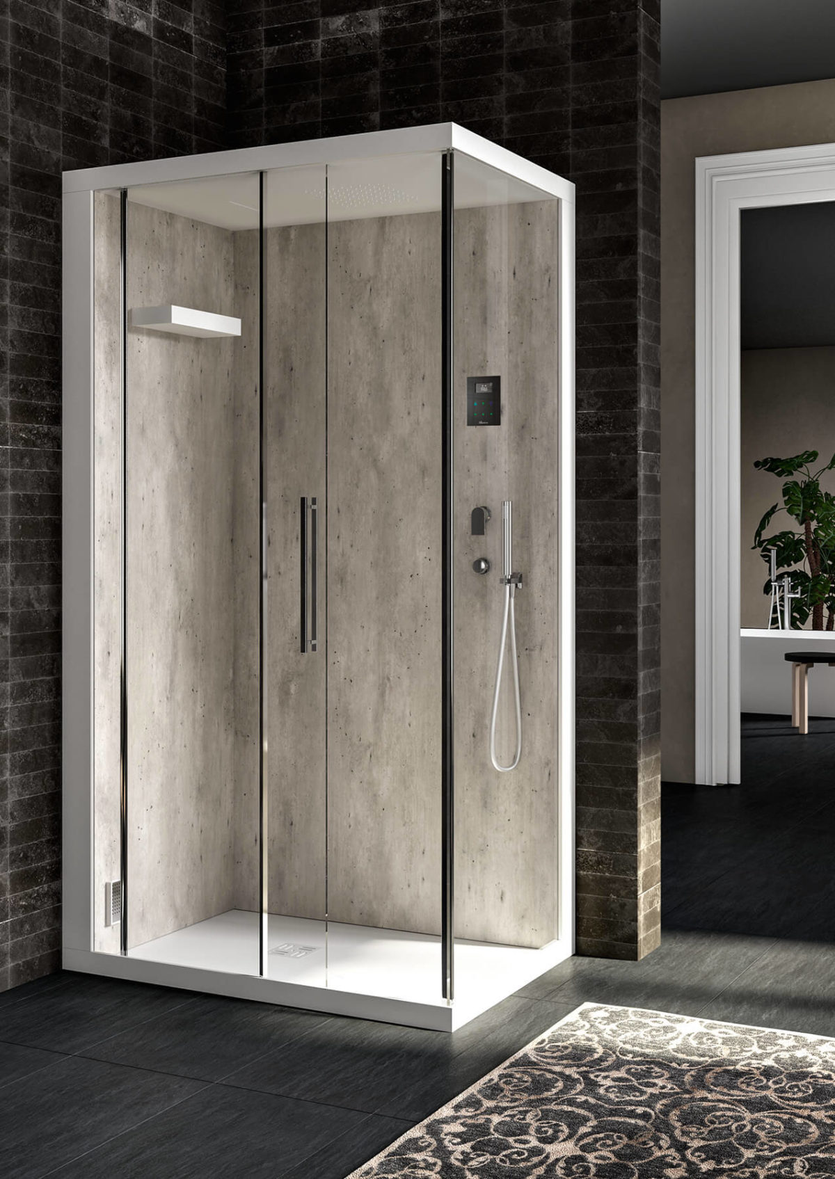 Box Doccia Design.Soreha Box Showers Albatros Wellness
