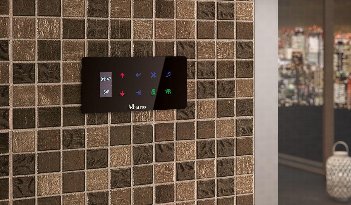 Hammam Plus Home display digitale Oled